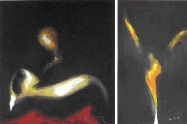 L.Natalevičiaus tapybos paroda skleidžia šviesą