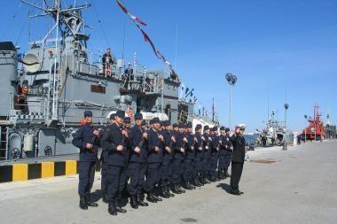 Karinių jūrų pajėgų vadų kursams – 15 metų