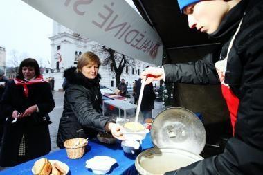 Maltos ordino Kalėdinės sriubos renginiai - visoje Lietuvoje