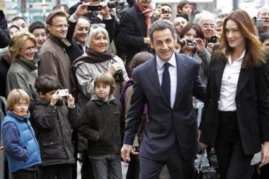 Prancūzai regionų rinkimuose sukasi nuo prezidento N.Sarkozy