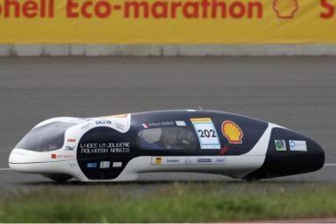 """""""Shell"""" eko-maratonas"""": su 1 litru - beveik 5 tūkstančiai kilometrų"""