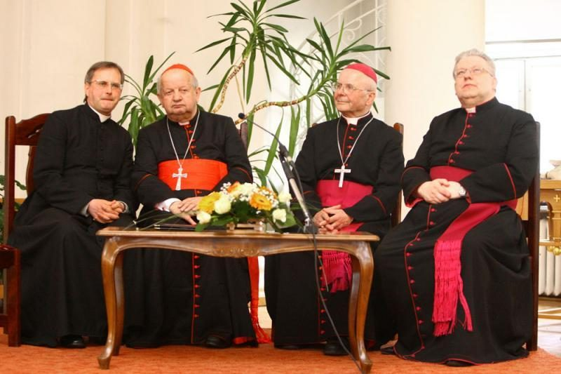 Arkikatedros bazilikos 600 metų jubiliejuje – popiežiaus pasiuntinys