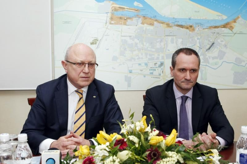 Jūrų krovos kompanijų vienybė sustiprino Klaipėdos uosto pozicijas