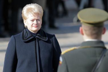Prezidentė apsilankys Klaipėdoje vykstančiose karinėse pratybose