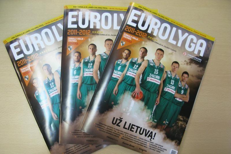 """Šeštadienį prekyboje pasirodys """"Eurolygos"""" žurnalas"""