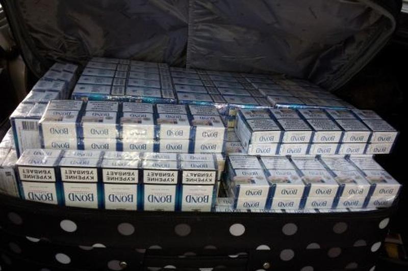 Palangiškis nelegaliai gabeno rusiškas cigaretes