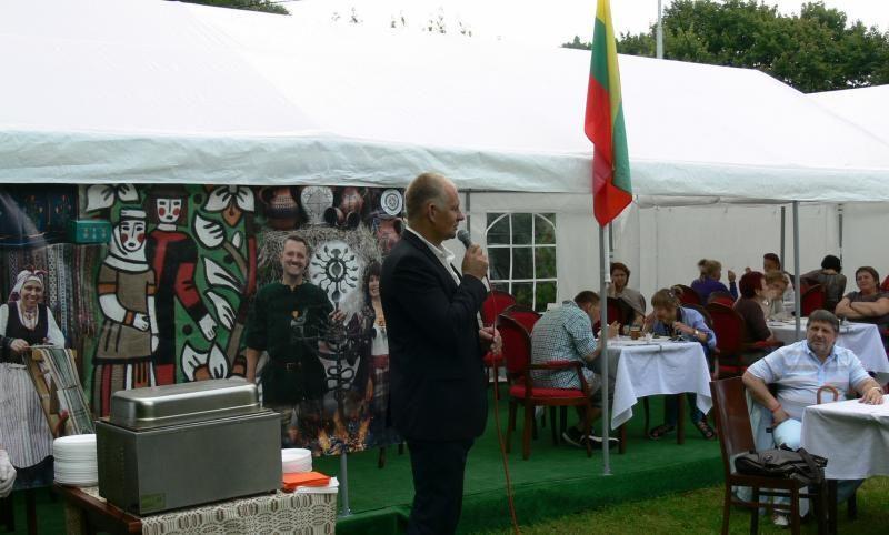 Lietuva buvo pristatyta tarptautiniame kultūros festivalyje Rusijoje