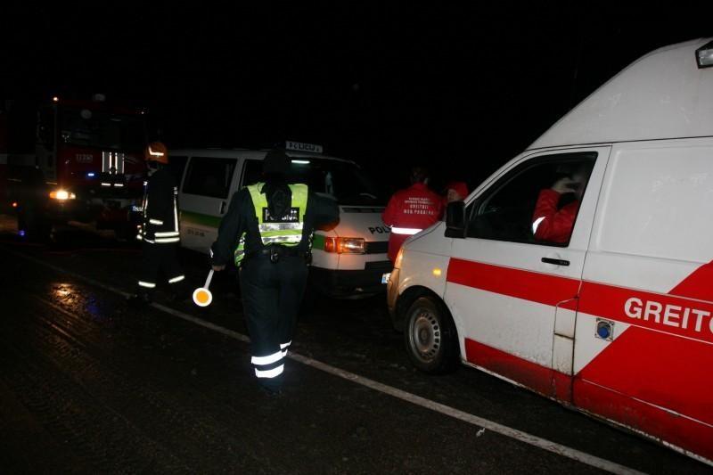 Kėdainių rajone per avariją žuvo žmogus (papildyta)