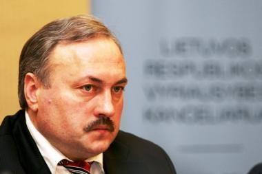 KT aiškinsis G.Vilkelio atleidimą iš Seimo kanclerio pareigų