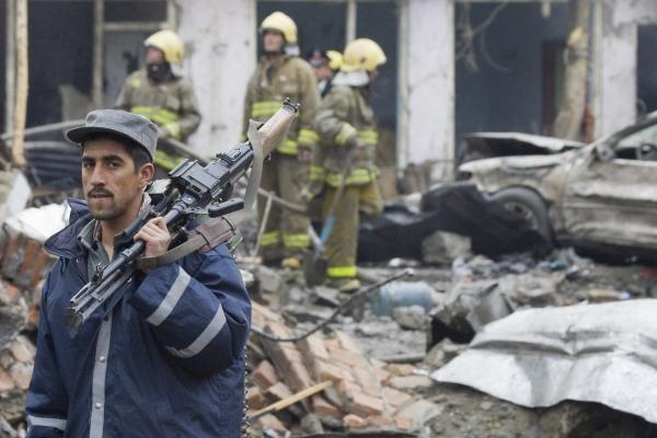 Irake per sprogimą policijos pareigūno namuose žuvo aštuoni jo šeimos nariai
