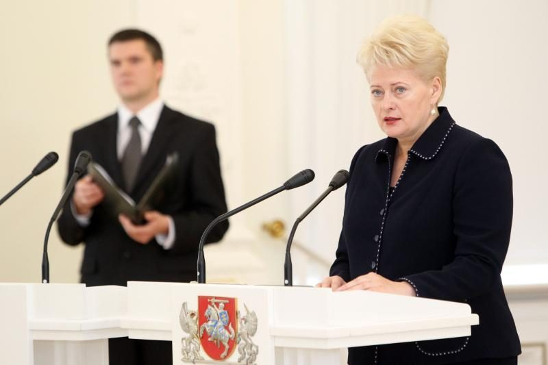 Prezidentė: N.Venckienė vykdo teismo sprendimą