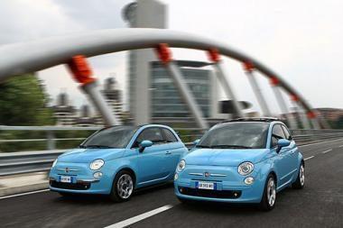 """""""Fiat 500"""" – su dviejų cilindrų varikliu"""