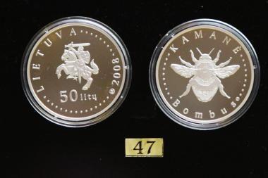 Išleista nauja proginė moneta, skirta gamtai