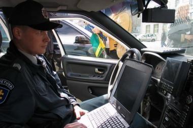 Vilniaus policininkai gaudo greičio mėgėjus