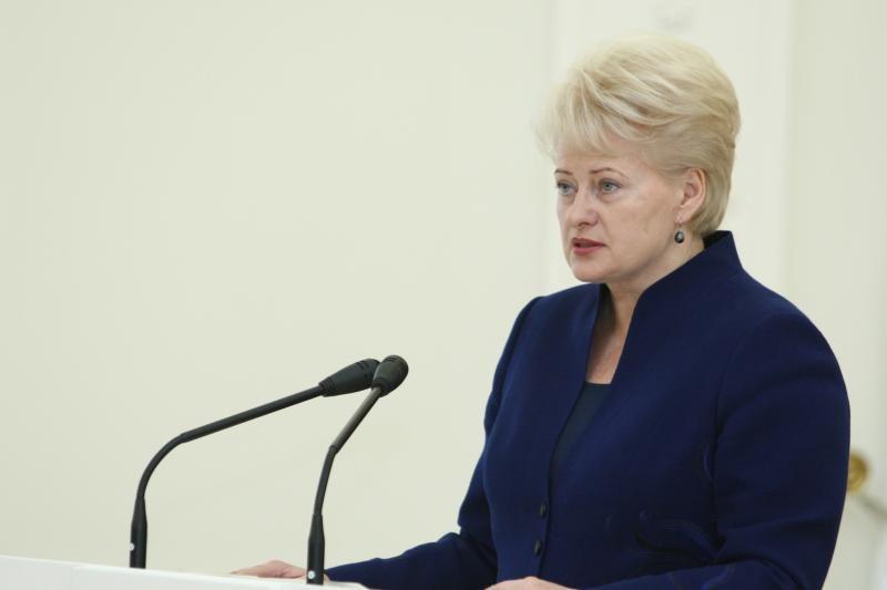 Prezidentė ragina institucijas įkurti vindikacijos tarnybas