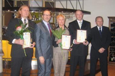 Palangoje apdovanoti verslininkai