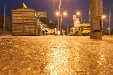 Lietuvos keliuose galimas plikledis