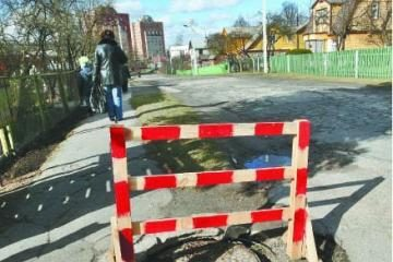 Mieste remontuojamos gatvės