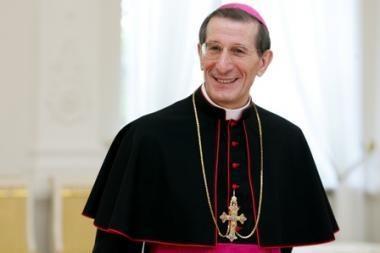Šv.Sosto atstovas Vilniuje: Bažnyčia prieštarauja gėjų eitynėms