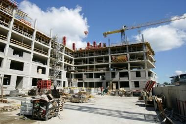 Statybos darbų sumažėjo 14 proc.