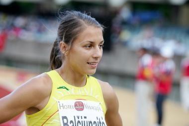 Europos pirmenybių lengvosios atletikos pirmenybėse Eglė Balčiūnaitė pateko į pusfinalį