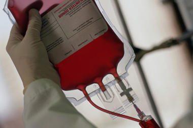 Kovoje dėl kraujo donorų - gasdinimai hepatitu