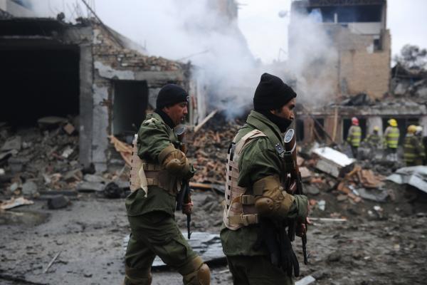Afganistano sostinės centre susisprogdino du mirtininkai