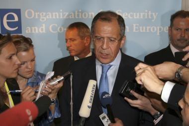 Lavrovas klausia savo JAV kolegų, kodėl neišduodamos vizos rusų oligarchams