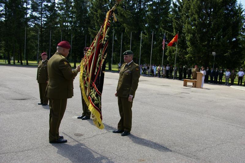 Dragūnų mokomasis batalionas turi naują vadą