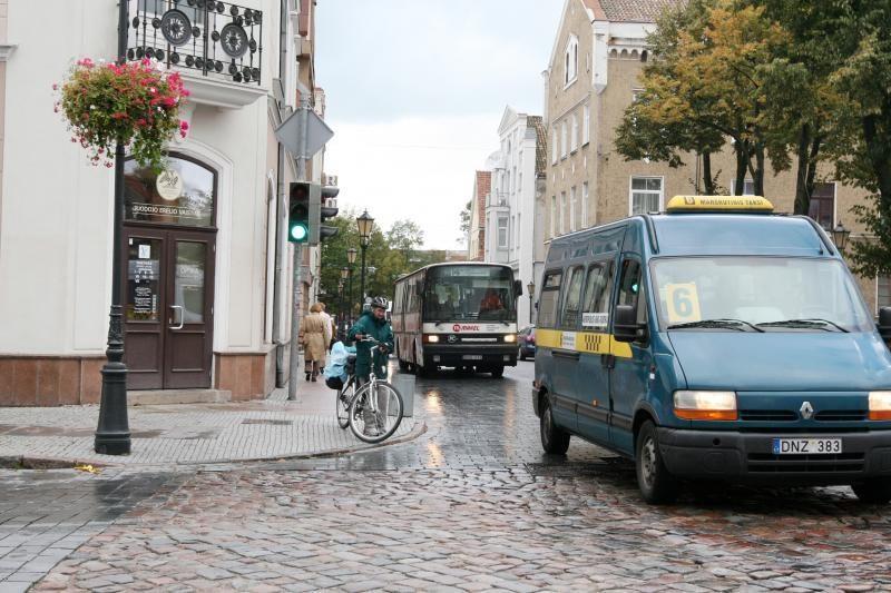 Inspektoriai toliau gaudys nesąžiningus mikroautobusų vairuotojus