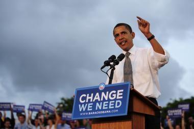 Vilniuje triumfuotų Barackas Obama