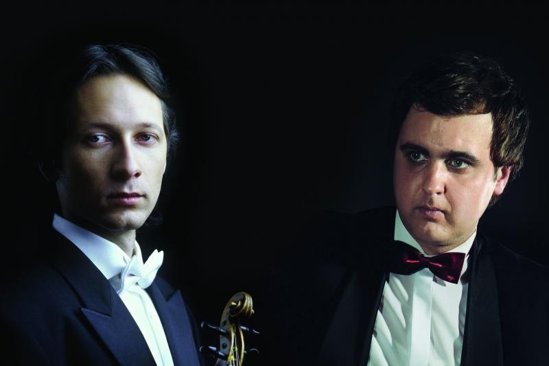 Vilhelmas Čepinskis su Sergejumi Krinicinu muzikuos Klaipėdoje