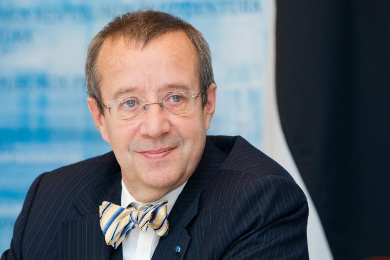 Estijos Prezidentas: mes laikomės savo žodžio