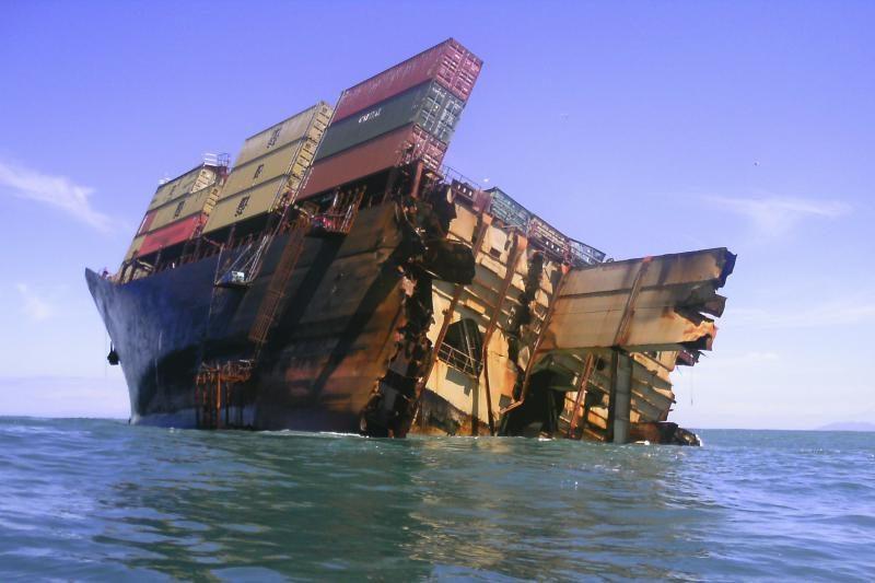 Laivo kapitonui skirta laisvės atėmimo bausmė dėl naftos išsiliejimo