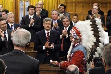 Kanada atsiprašė indėnų už skriaudas