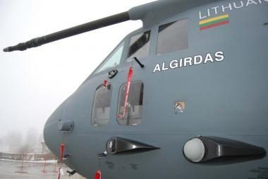 Kariniam transporto lėktuvui - Algirdo vardas