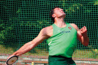 V.Alekna baigė pasirengimą olimpiadai