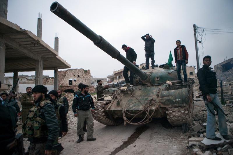 JT: karas Sirijoje gali išplisti Artimuosiuose Rytuose