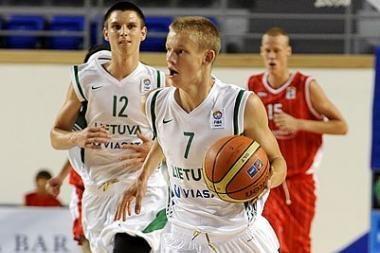 Lietuvos jaunučiai Europos čempionato finale neprilygo kroatams