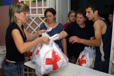Gruzijai nugabenta ketvirtoji pagalbos siunta