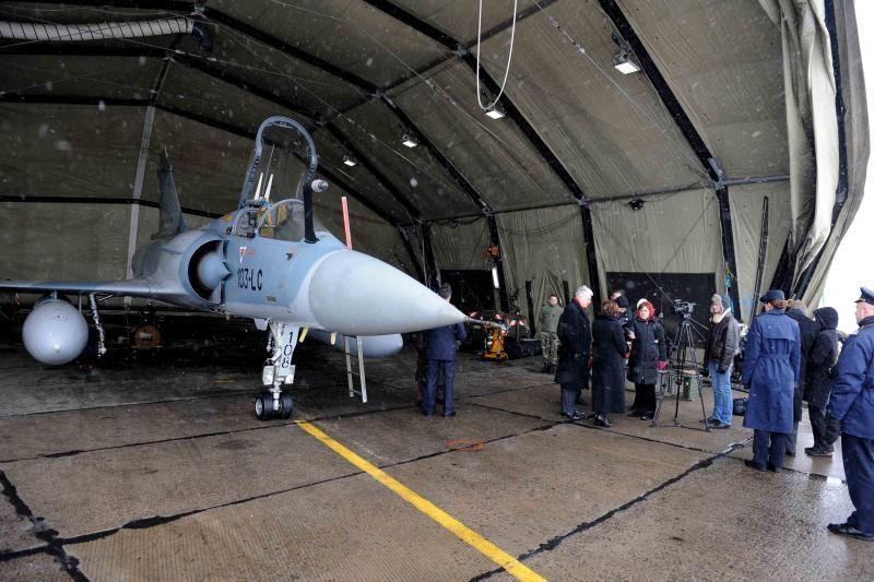 NATO oro policijos misija lieka Šiauliuose