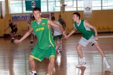 Lenkijoje jaunimo krepšinio rinktinė liko antra