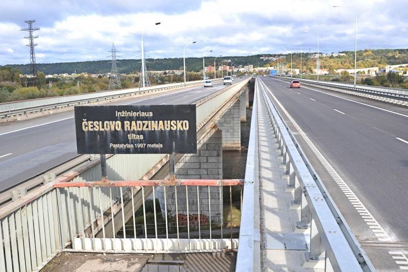 Po remonto atidarytas Č.Radzinausko tiltas