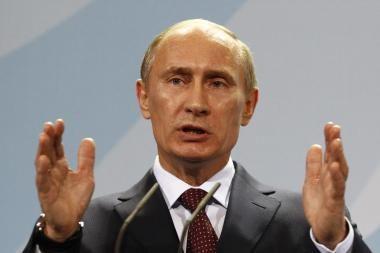 V.Putinas žada 20 trln. rublių armijai modernizuoti