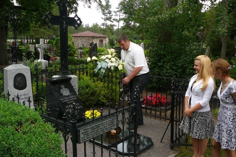 Paminėtos grafo A. Tiškevičiaus mirties metinės