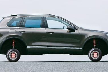 Įsivaizduoji automobilį su 10 colių padangomis?