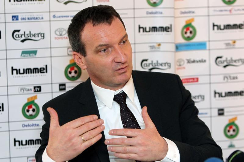 Lietuvos ir Rusijos futbolo rinktinių mačas baigėsi lygiosiomis