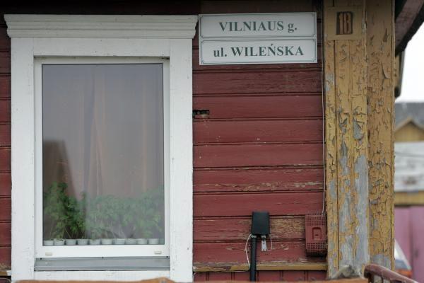 Vilniaus rajone atsiranda naujų gatvių pavadinimų lenkų kalba