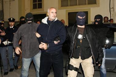 Italijos policija areštavo įtakingą Sicilijos mafijos vadeivą