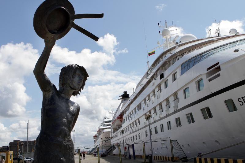 Už kartelį kaltinamos laivų agentavimo įmonės nutartį skųs